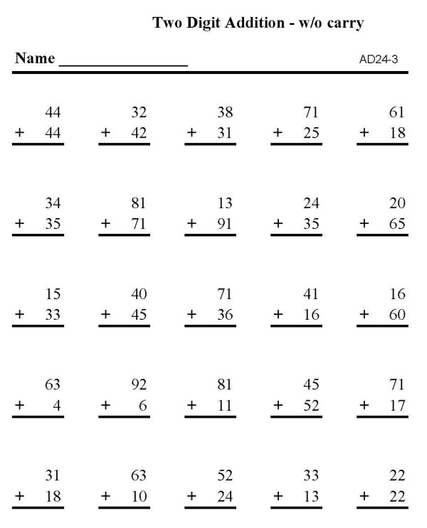 Number Names Worksheets free rocket math worksheets Free – Rocket Math Worksheets