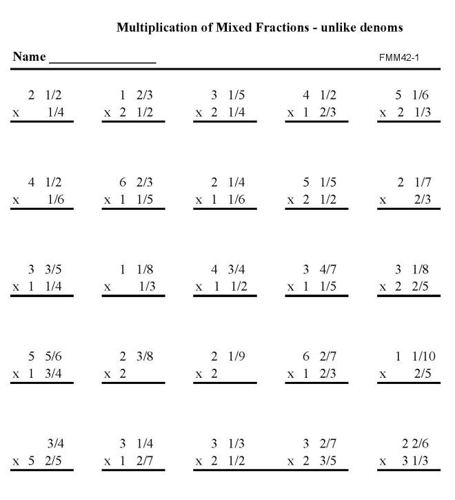 math worksheet : bluebonkers  printable fractions practice math sheets multiply  : Mathsheets
