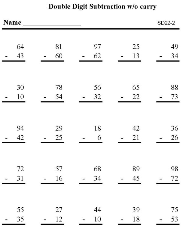 Printables Subtraction Practice Worksheets practice worksheet scalien subtraction scalien