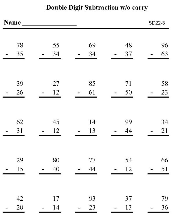 A Math Worksheets – Sharon Wells Math Worksheets